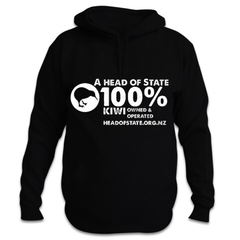 """100% Kiwi"" hoodie - The Republican Movement of Aotearoa New Zealand"